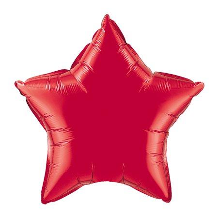 Звезда(мини) 9 дюймов(24*25 см) красная Китай от 5шт