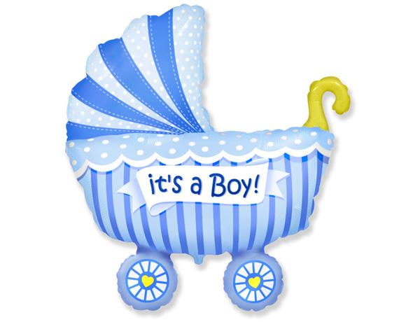 Коляска FLEXMETAL Baby Boy(голубя)