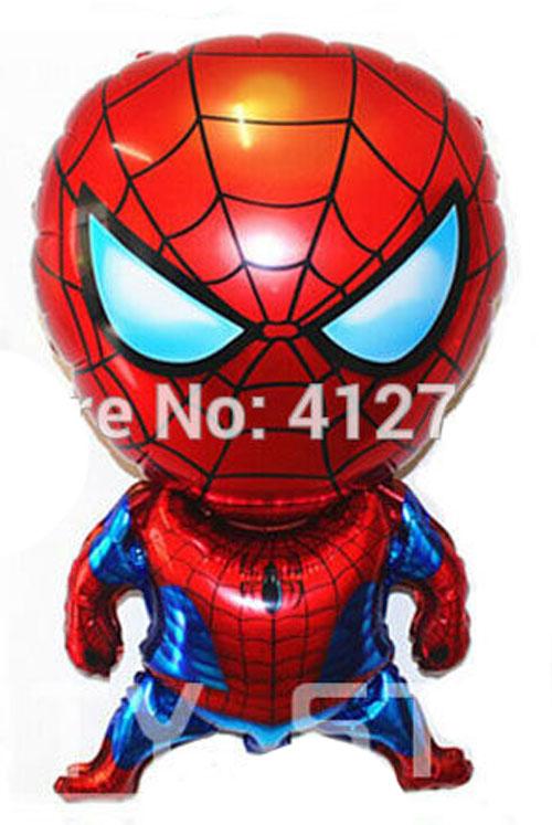 Фольга человек паук большой 80*50см