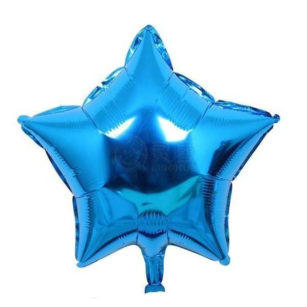 Звезда 18 дюймов (45х45см) синяя Китай