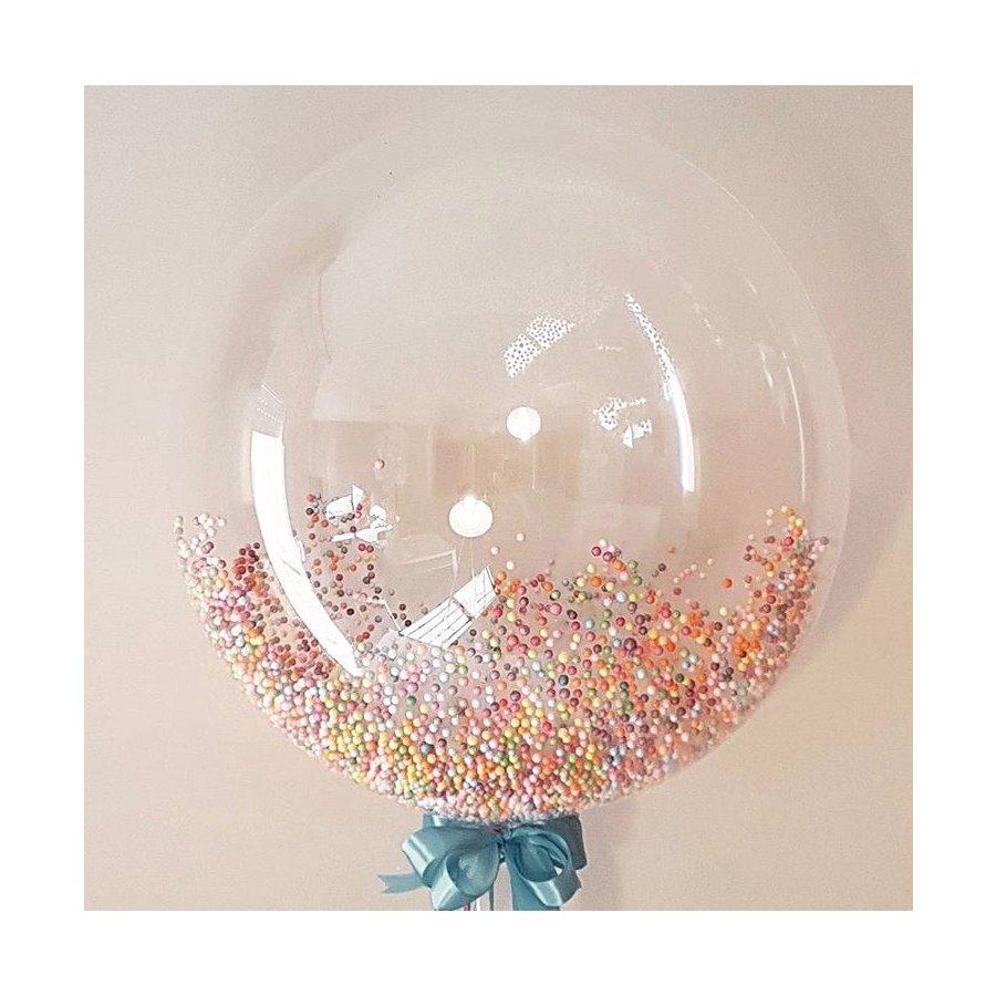 Шарик Bubble прозрачный 18″(40см)