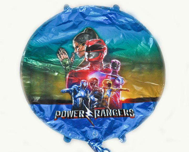Шарик круг Power Rangers 45х45см
