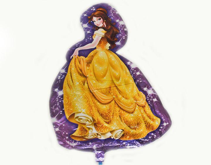 Шарик Принцесса в желтом (Бель) 85х55см