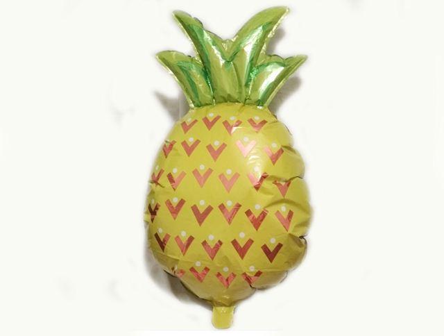 Шар фольга ананас
