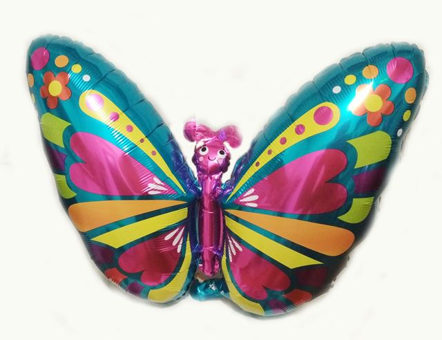 Шар фольга бабочка 50х50см